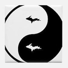 U.P._Ying_Yang.gif Tile Coaster