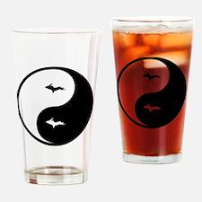 U.P._Ying_Yang.gif Drinking Glass