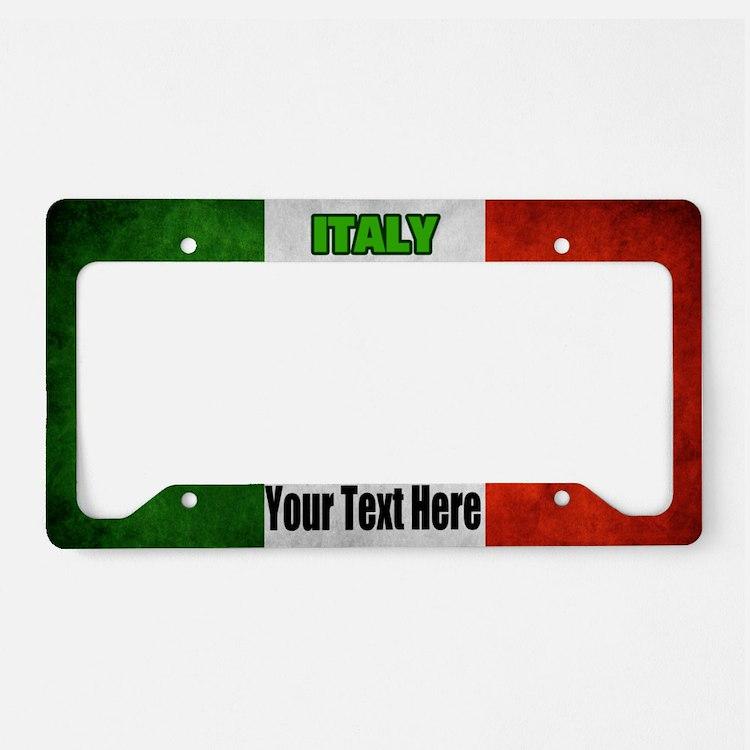 Italian Licence Plate Frames Italian License Plate