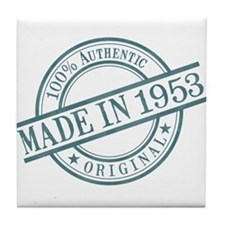 Made in 1953 Tile Coaster