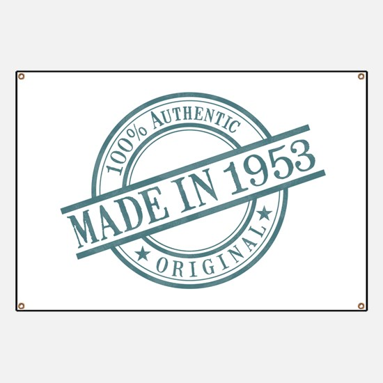 Made in 1953 Banner