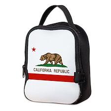 California State Flag Neoprene Lunch Bag