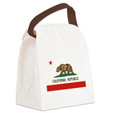 California State Flag Canvas Lunch Bag
