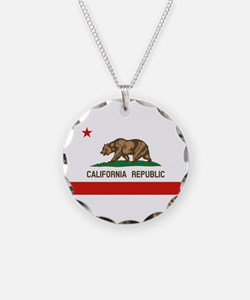 California State Flag Necklace
