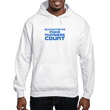 Accountants Make Numbers Count Hoodie