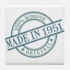 Made in 1951 Tile Coaster