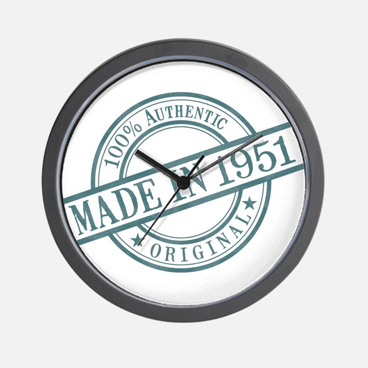 Made in 1951 Wall Clock