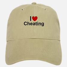 Cheating Baseball Baseball Cap