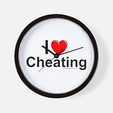 Cheating Wall Clock