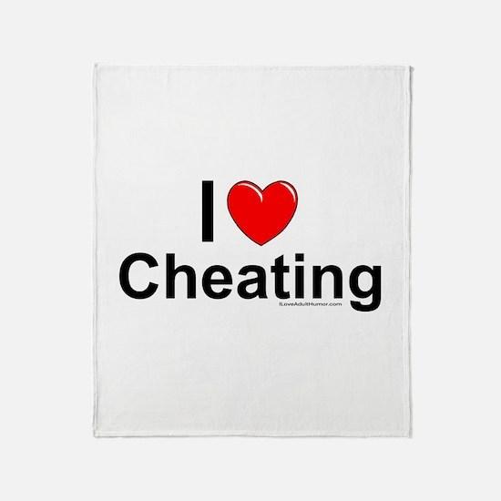 Cheating Throw Blanket