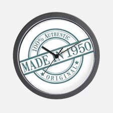 Made in 1950 Wall Clock