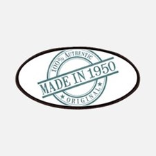 Made in 1950 Patches