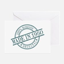 Made in 1950 Greeting Card