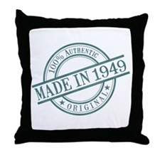 Made in 1949 Throw Pillow