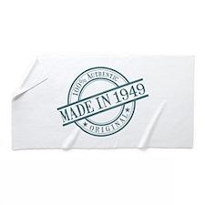 Made in 1949 Beach Towel