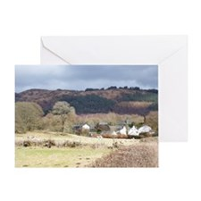 stavely in cartmel Greeting Card