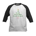 All I Want For Christmas Kids Baseball Jersey