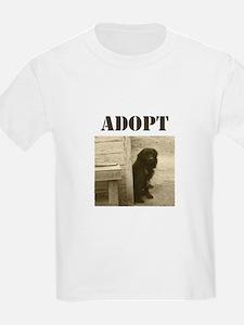 Adopt dog, stray, shelter T-Shirt