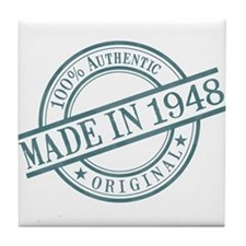 Made in 1948 Tile Coaster
