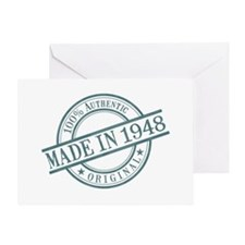 Made in 1948 Greeting Card