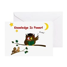 Teaching Wise Owl Card Greeting Cards