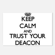 Keep Calm and Trust Your Deacon Postcards (Package
