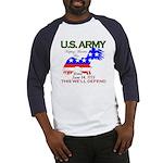 US ARMY Keeping America Free Baseball Jersey
