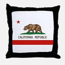 California State Flag Throw Pillow