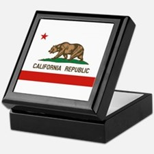 California State Flag Keepsake Box