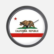 California State Flag Wall Clock