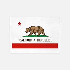 California State Flag 5'x7'Area Rug