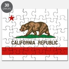 California State Flag Puzzle