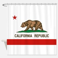 California State Flag Shower Curtain