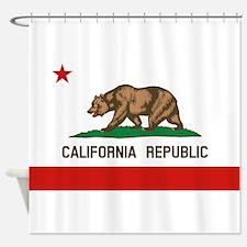 California State Flag Shower Curtain