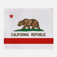 California State Flag Throw Blanket