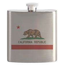 California State Flag Flask
