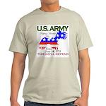 US ARMY Keeping America Free Ash Grey T-Shirt