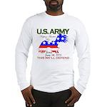 US ARMY Keeping America Free Long Sleeve T-Shirt