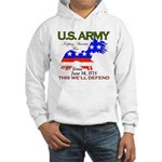 US ARMY Keeping America Free Hooded Sweatshirt