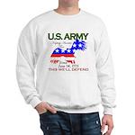 US ARMY Keeping America Free Sweatshirt