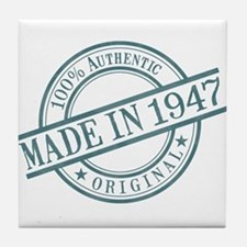 Made in 1947 Tile Coaster