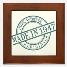 Made in 1947 Framed Tile