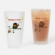 Teaching Wise Owl Drinking Glass