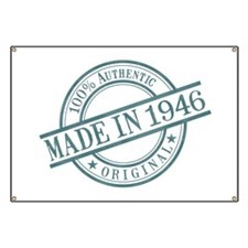 Made in 1946 Banner
