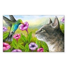 Cat 591 with Hummingbird Decal