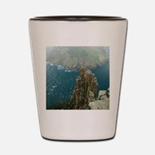 tasman island and the blade Shot Glass