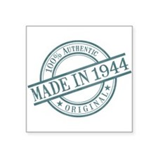 "Made in 1944 Square Sticker 3"" x 3"""