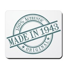 Made in 1943 Mousepad
