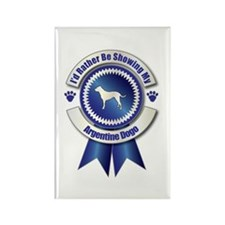 Showing Dogo Rectangle Magnet (100 pack)