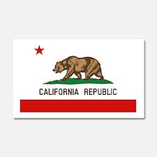 California State Flag Car Magnet 20 x 12
